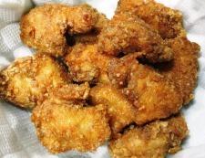 鶏むね肉のガパオ唐揚げ 調理⑥