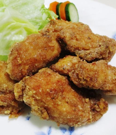 鶏むね肉のガパオ唐揚げ 拡大