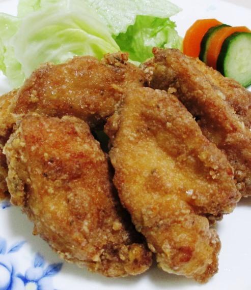 鶏むね肉のガパオ唐揚げ 大