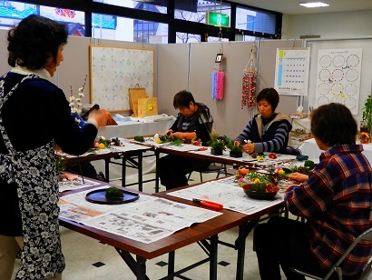 フラワー教室写真2