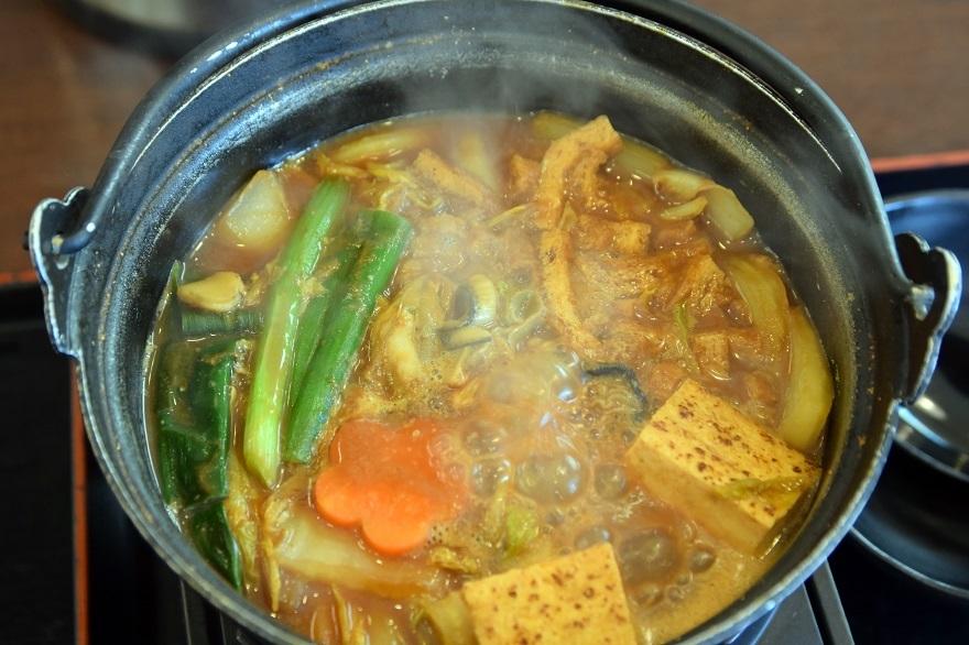 かき土手鍋 (2)