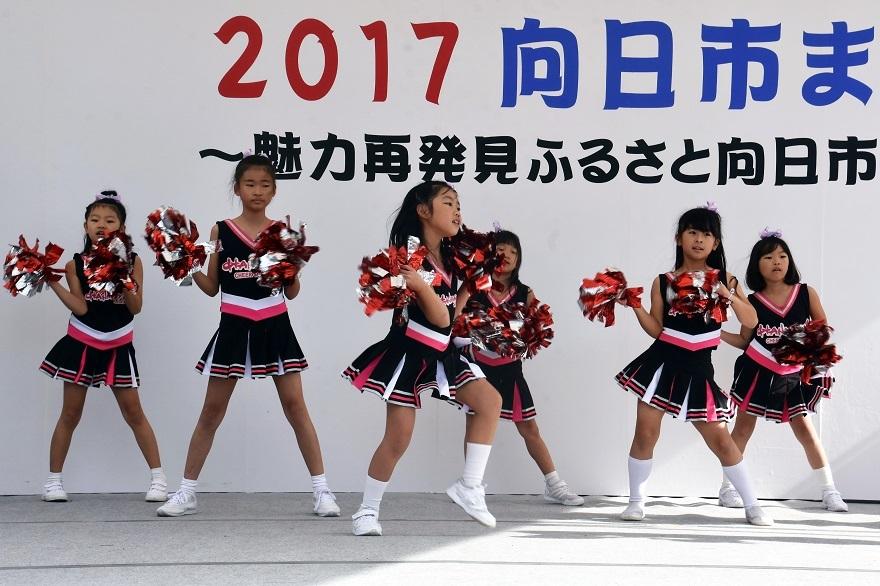 向日市まつり・キッズチア (8)
