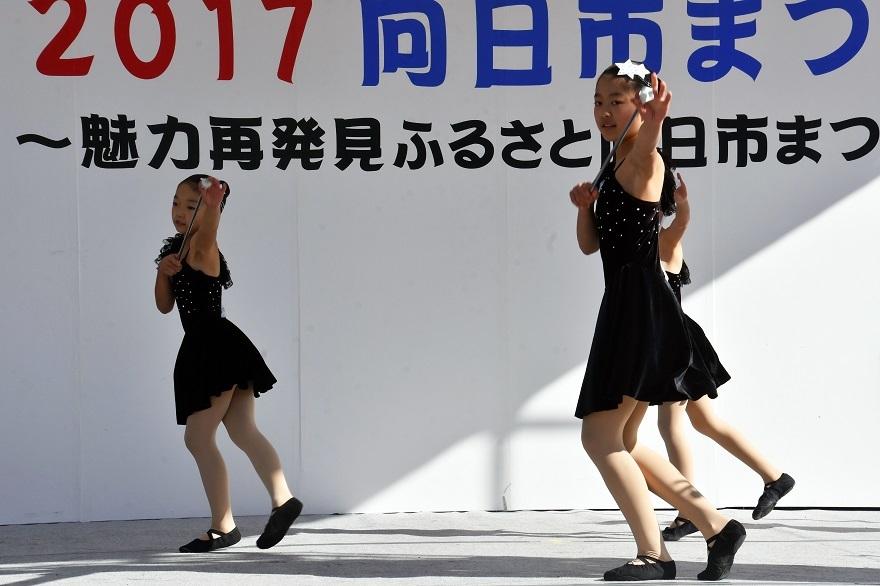 向日市まつり・バトン (4)