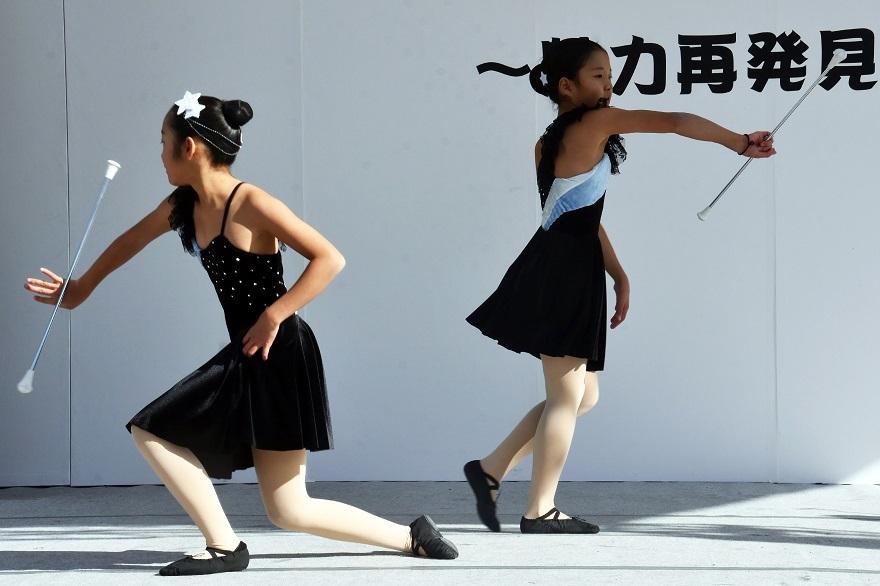向日市まつり・バトン (8)