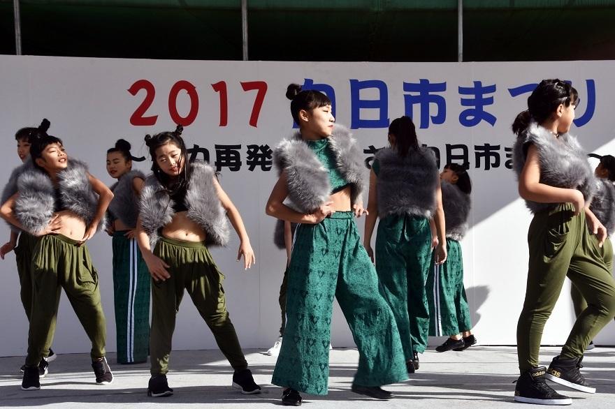 向日市まつり・高校生ダンス (1)