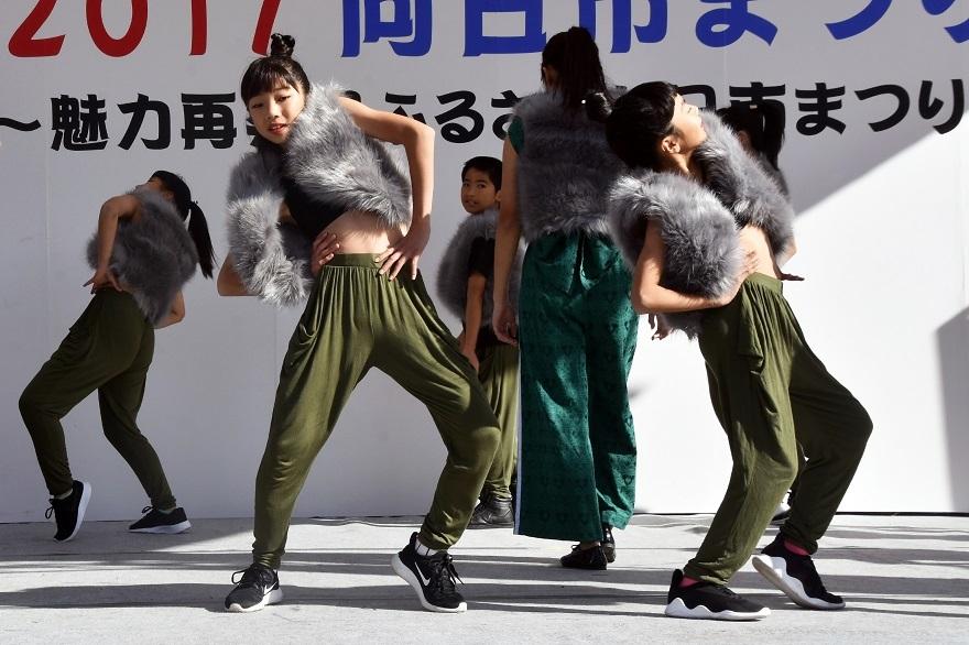 向日市まつり・高校生ダンス (2)