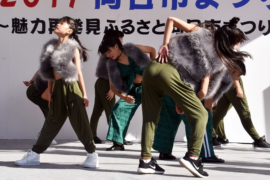向日市まつり・高校生ダンス (3)