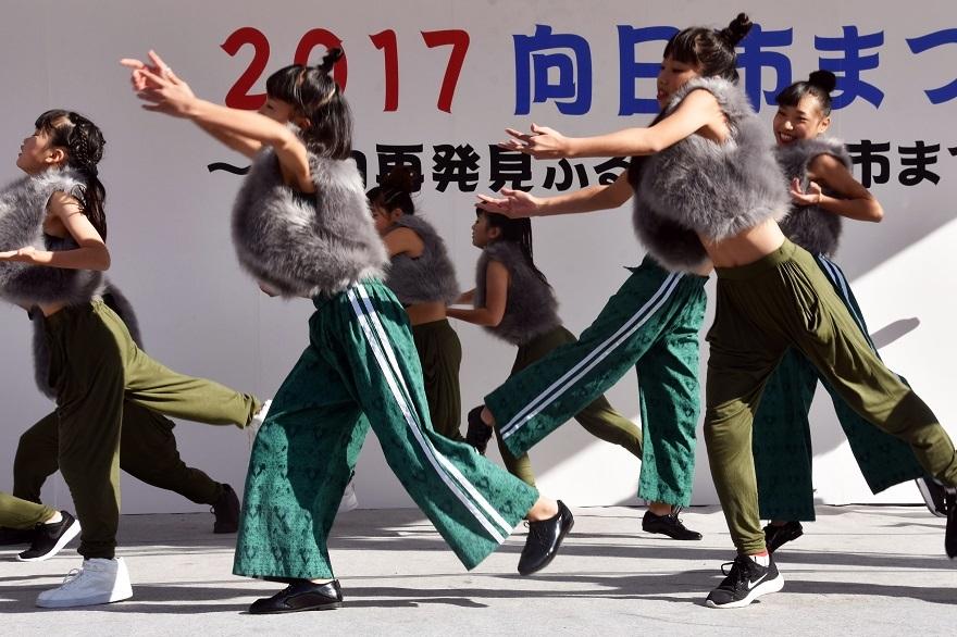向日市まつり・高校生ダンス (4)
