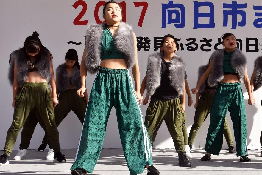 向日市まつり・高校生ダンス (5)