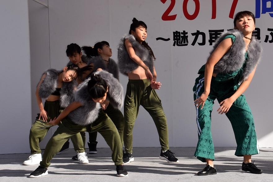向日市まつり・高校生ダンス (7)