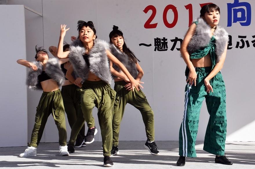 向日市まつり・高校生ダンス (8)
