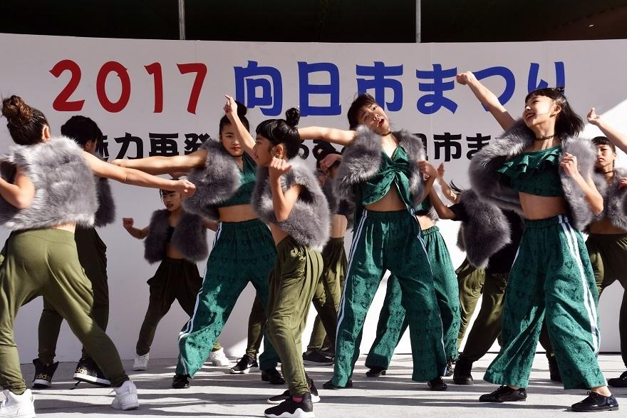 向日市まつり・高校生ダンス (10)