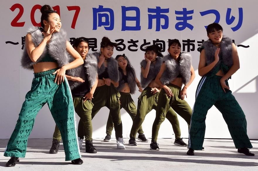 向日市まつり・高校生ダンス (9)