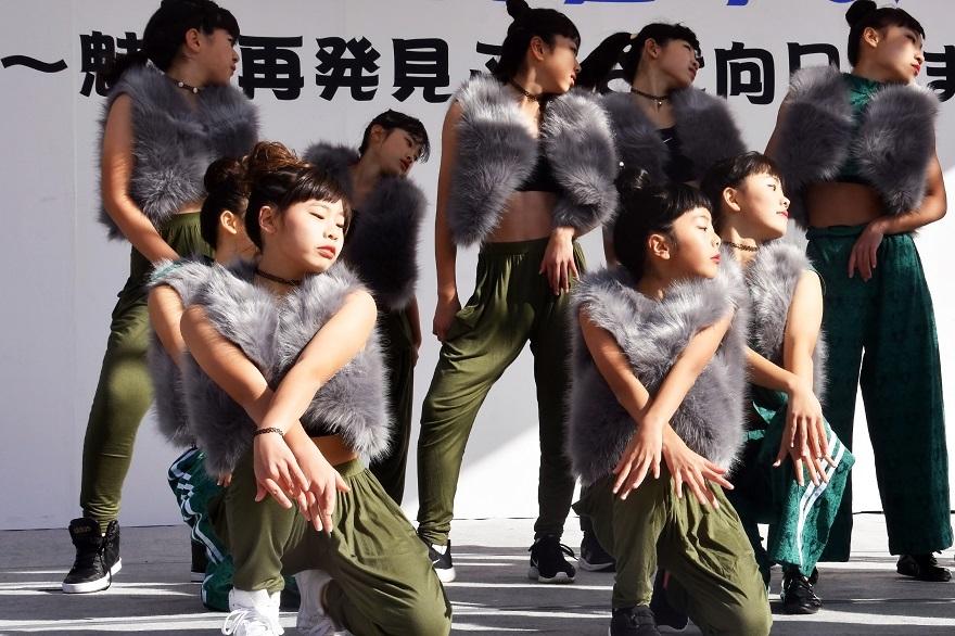 向日市まつり・高校生ダンス (11)