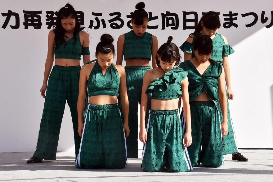向日市まつり・高校生ダンス (13)