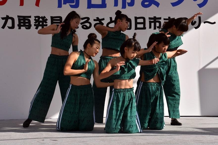 向日市まつり・高校生ダンス (14)