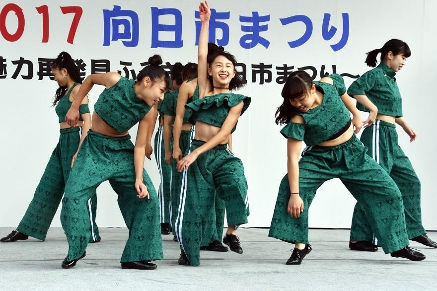 向日市まつり・高校生ダンス (16)