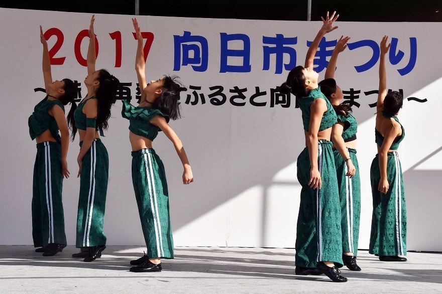 向日市まつり・高校生ダンス (17)