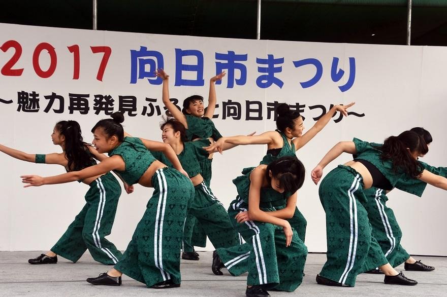 向日市まつり・高校生ダンス (18)
