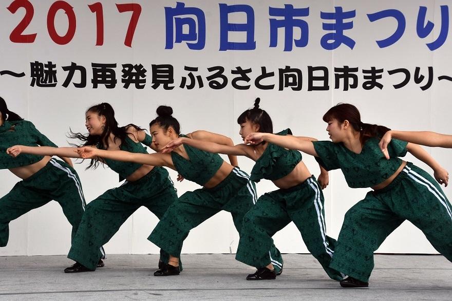 向日市まつり・高校生ダンス (20)