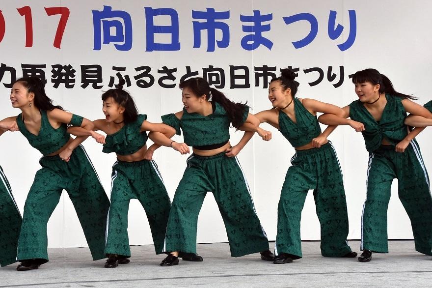 向日市まつり・高校生ダンス (21)