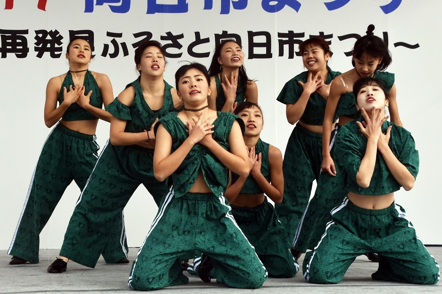 向日市まつり・高校生ダンス (22)