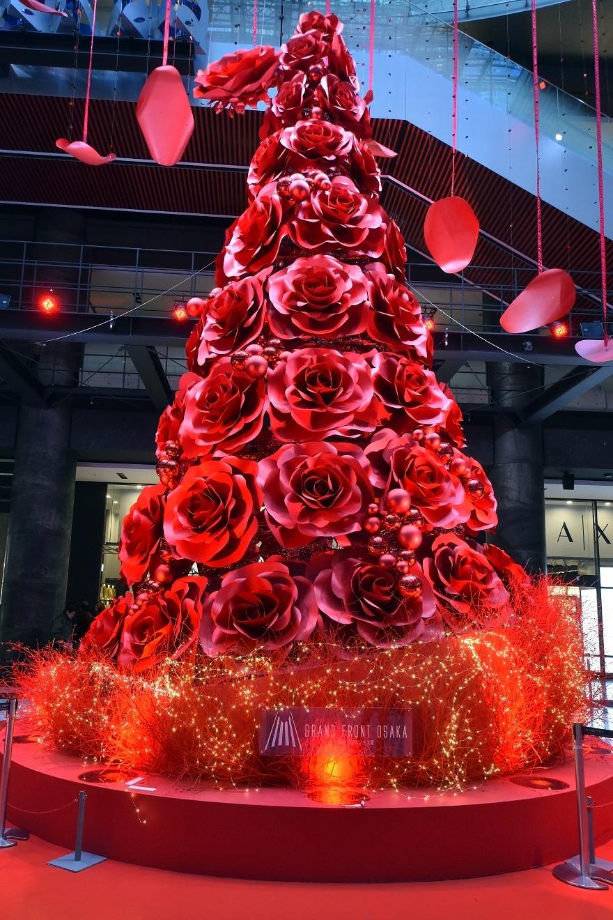 赤いクリスマスツリー (1)