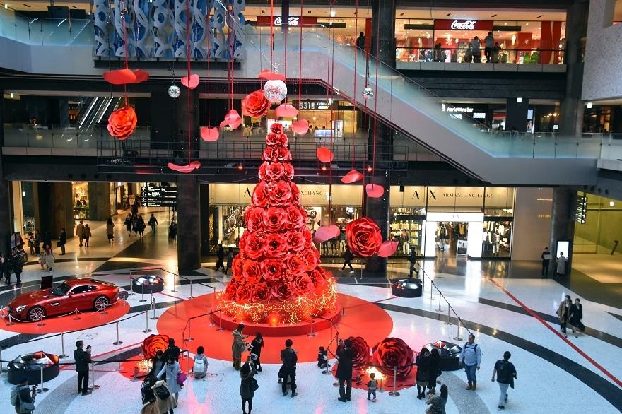 赤いクリスマスツリー (7)