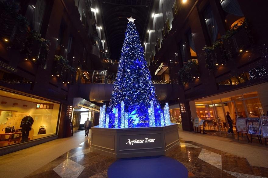 青いクリスマスツリー (4)