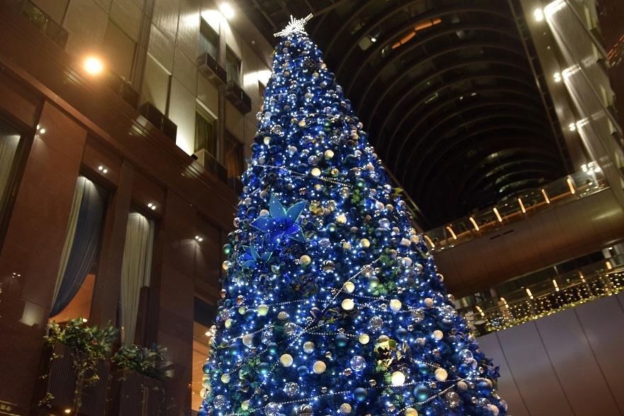 青いクリスマスツリー (6)