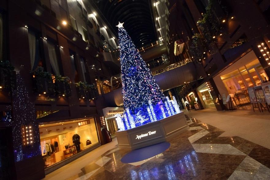 青いクリスマスツリー (8)