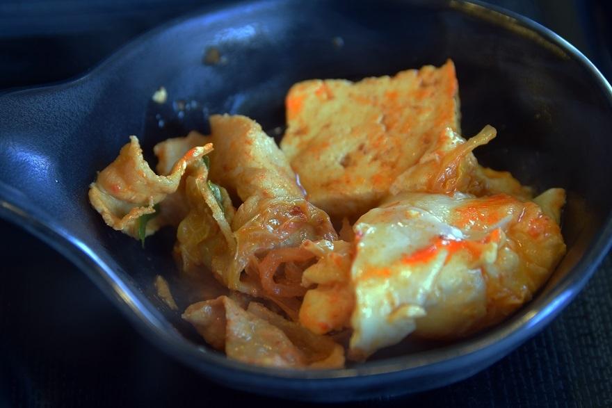 豚肉キムチ鍋 (3)