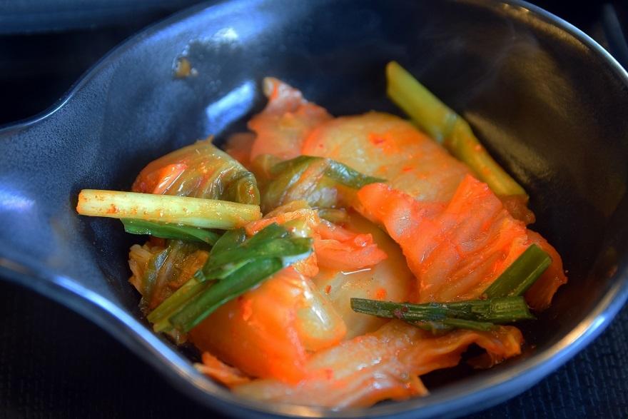 豚肉キムチ鍋 (4)