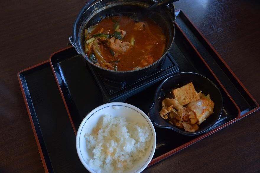 豚肉キムチ鍋 (6)