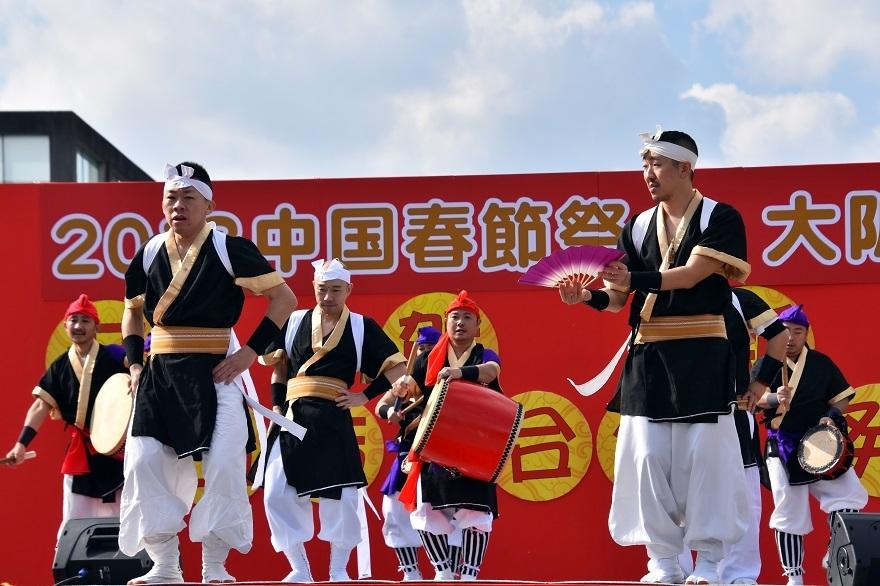 天王寺・エイサー (9)