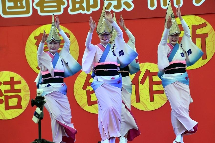 天王寺・阿波踊り (013)