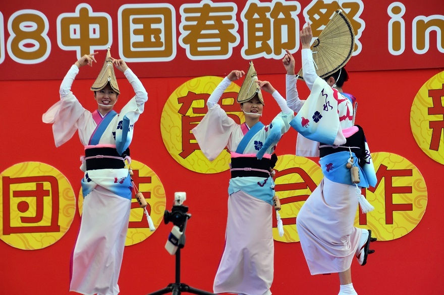 天王寺・阿波踊り (13)