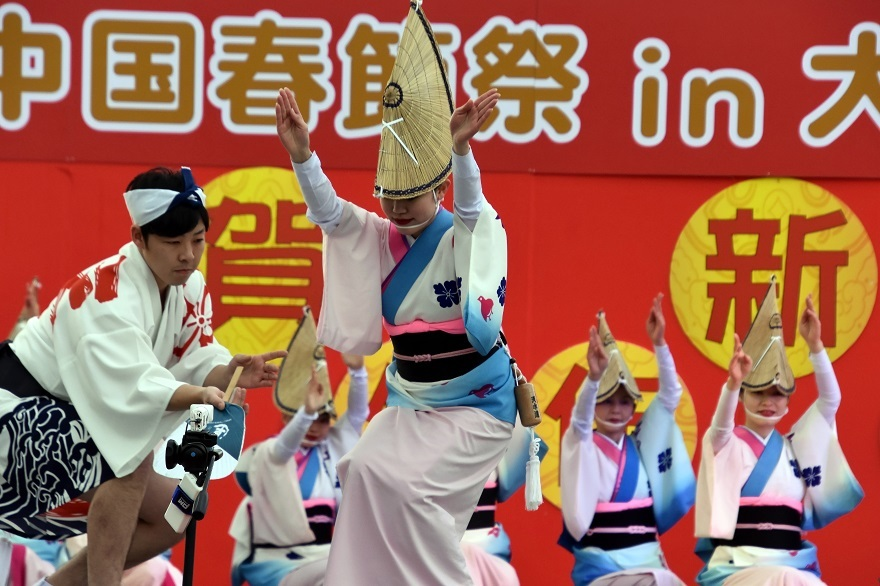 天王寺・阿波踊り (17)