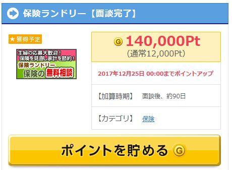 保険ランドリー案件がげっとまで14,000円相当!