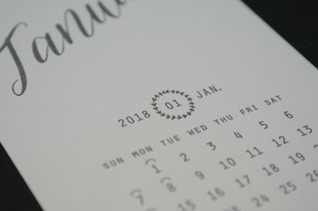 180105活版印刷カレンダーup