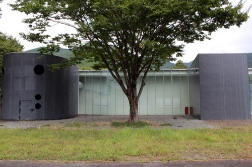 0285:熊野古道なかへち美術館 北側ファサード①