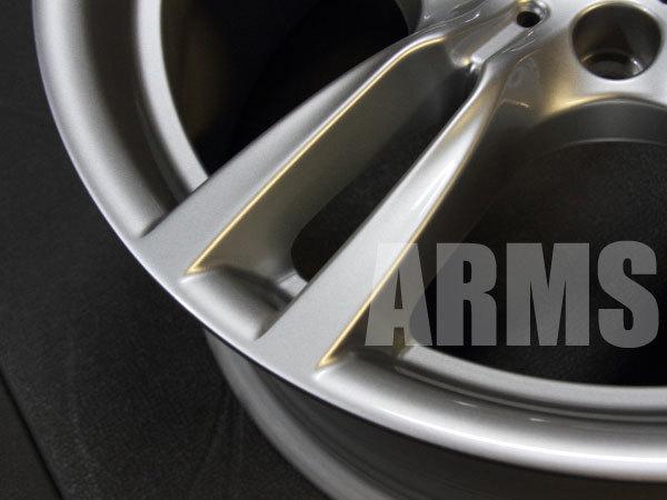 BMWのホイールを修理