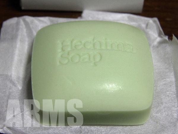 固形石鹸の色