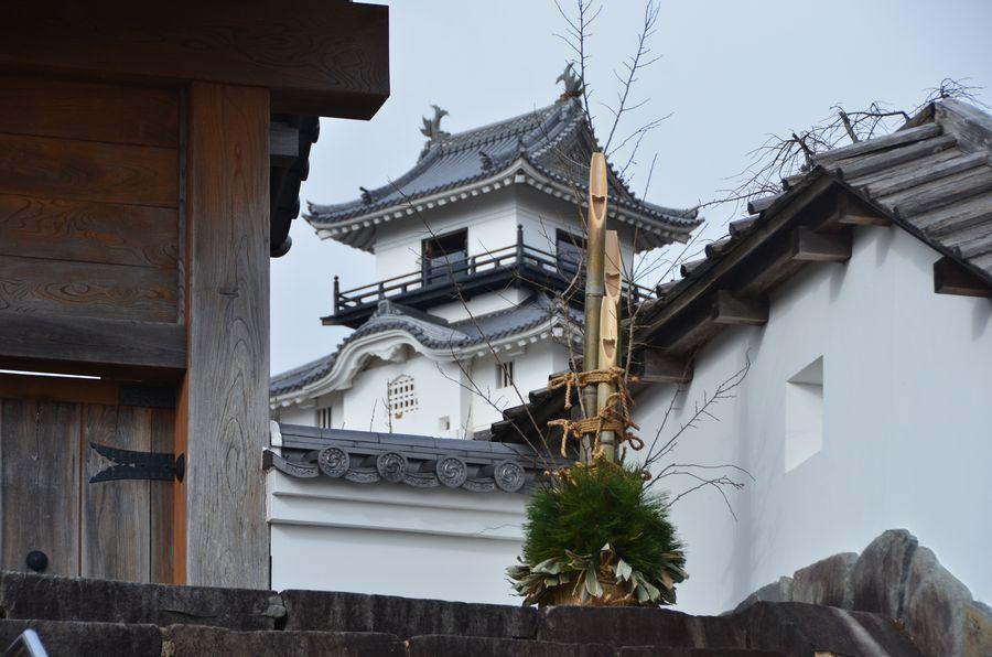 掛川城 天守-1