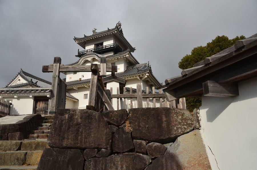 掛川城 天守-4