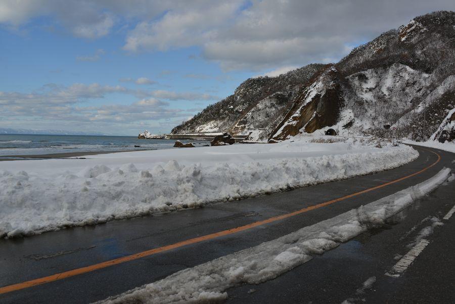 雪の海岸-10