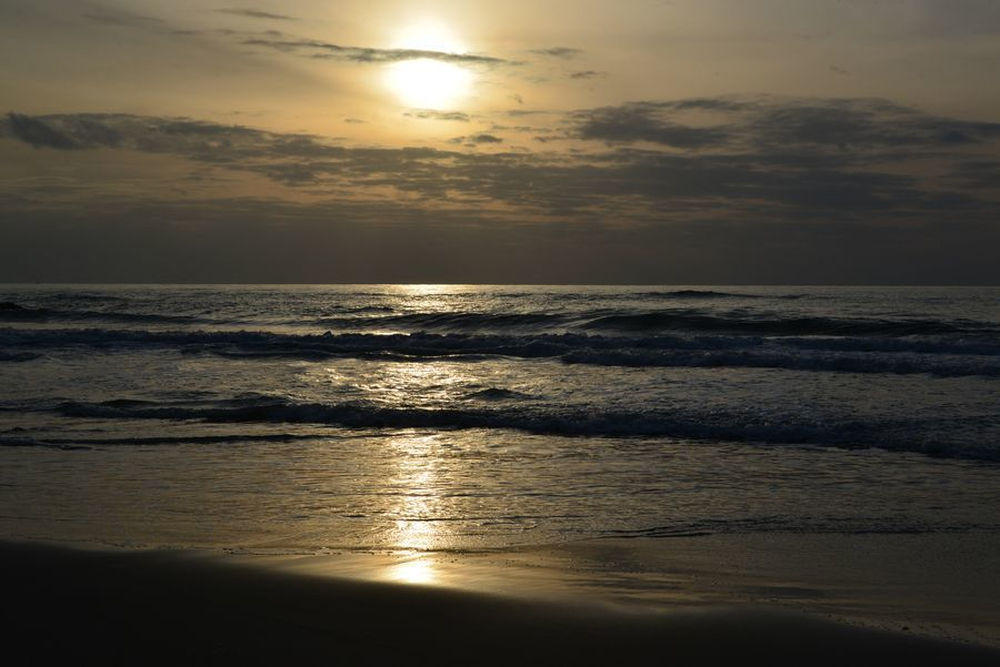 久し振りの夕陽-4