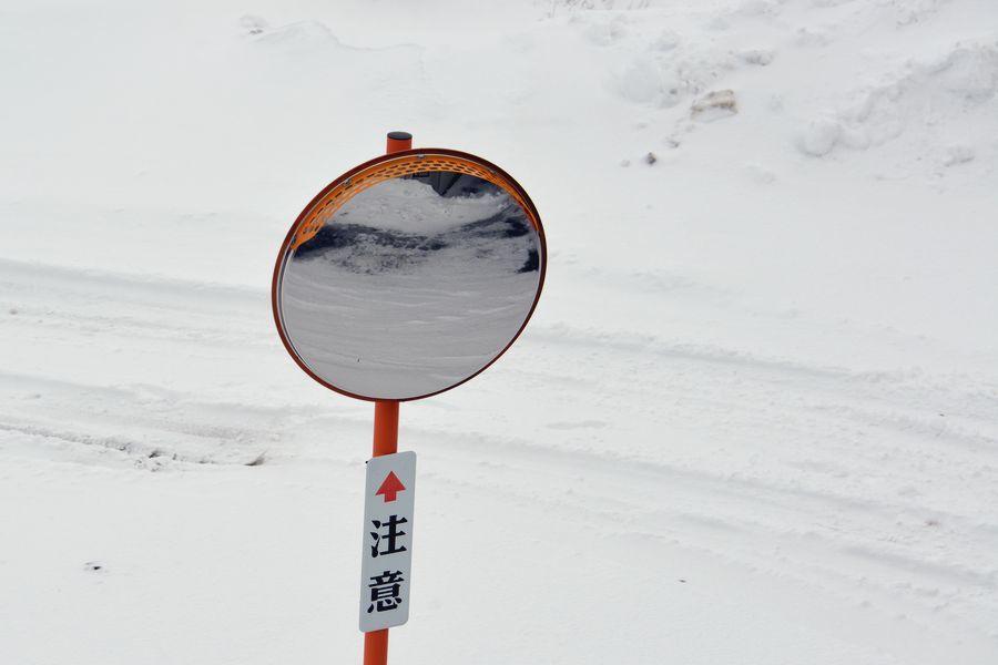 雪の中で-6