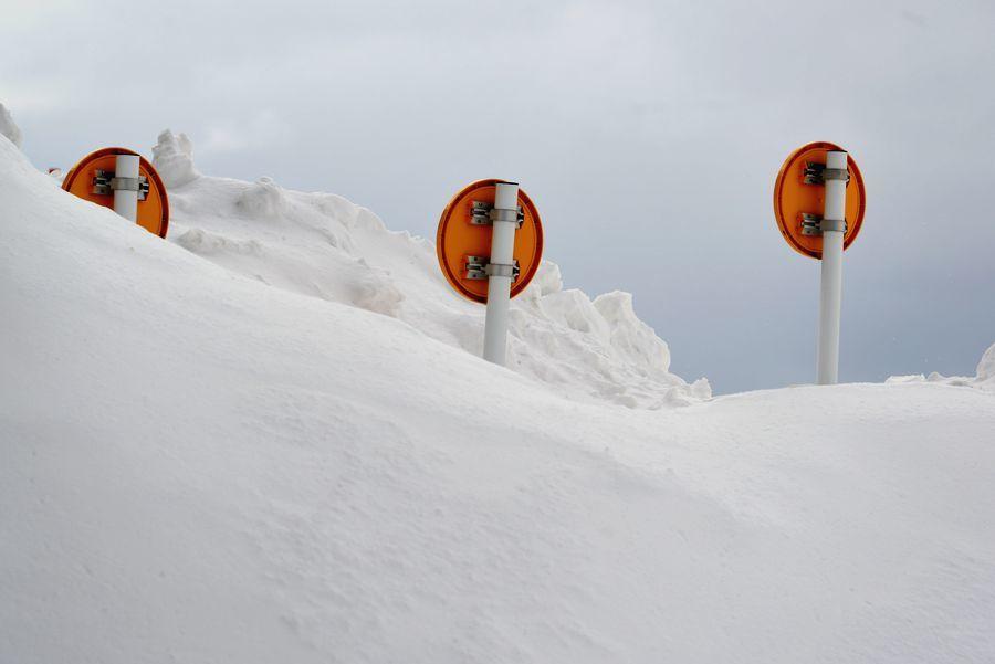 雪の中で-7