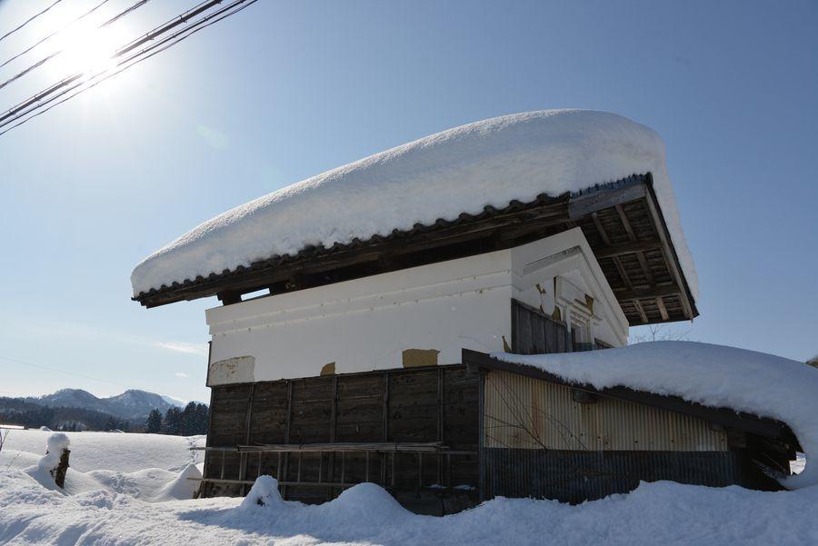 雪の山里-5